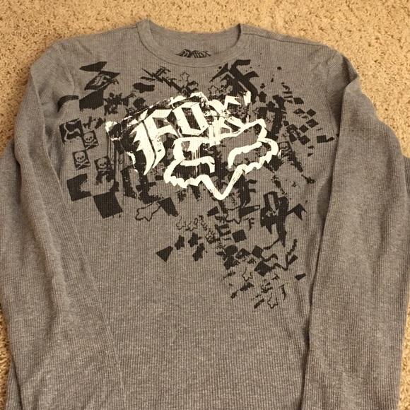 f2e880a0 Fox Shirts | Mens Long Sleeve Waffle Knit Shirt | Poshmark